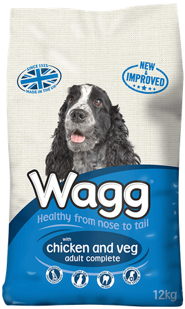 Wagg Complete Dog Food with Chicken and Veg