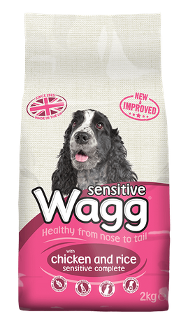 Wagg Complete Sensitive Dog Food