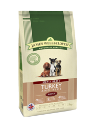 Turkey & Rice Small Breed Adult